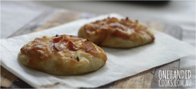Mini Puff Pizzas