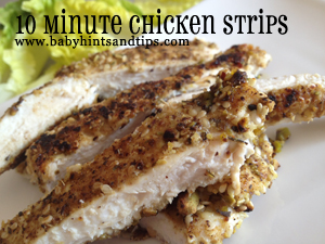 quick chicken strips recipe
