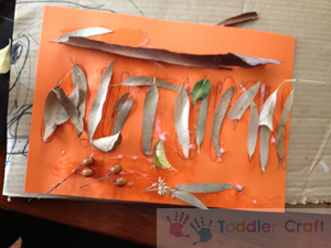 Autumn Collage step 5 | Baby Hints and Tips