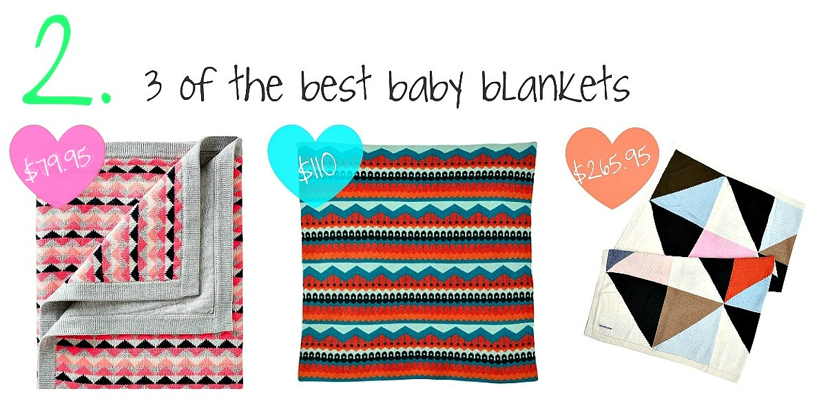 Tip 2 baby blankets collage