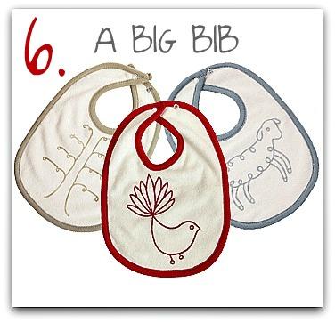 Tip 6 nature baby bibs 19.95lg_towellingbib_lbt