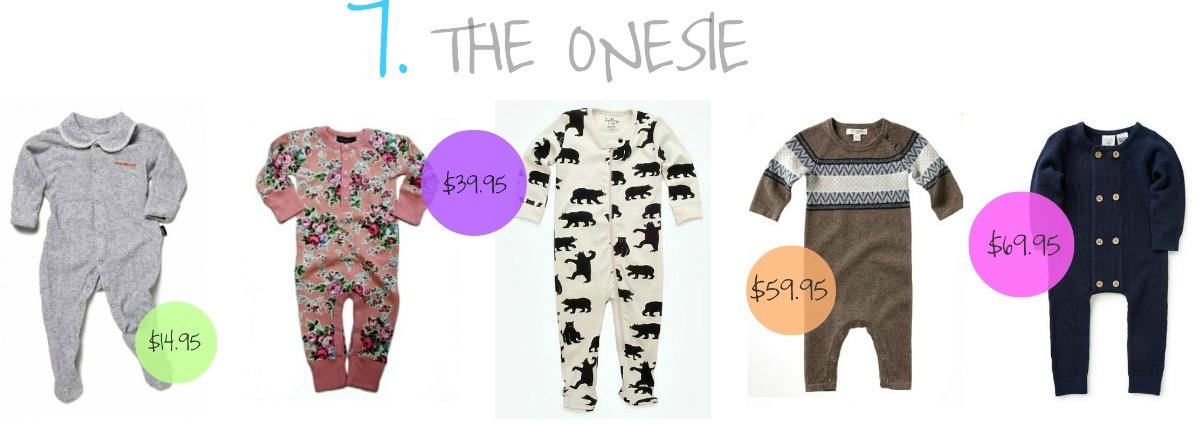 Tip 7 onesie collage