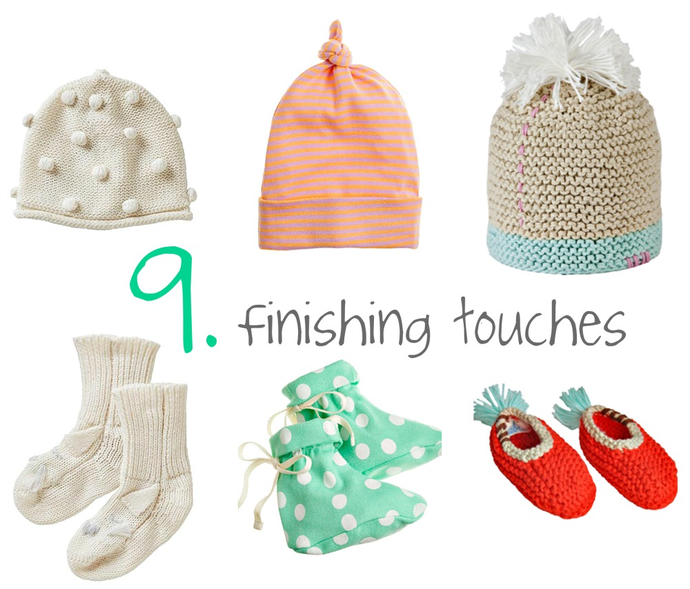 Tip 9 finishing touches collage