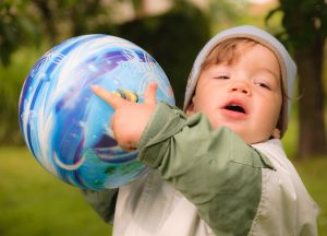 ball play for children