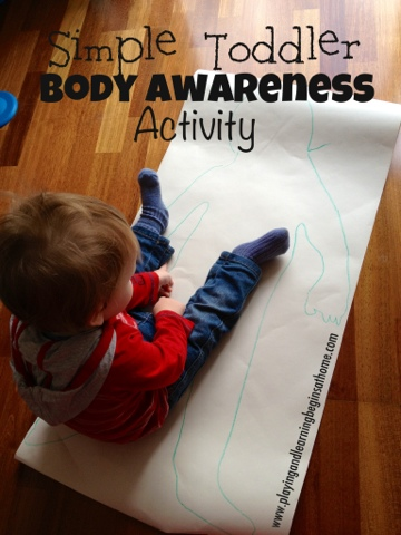 simple toddler body awareness