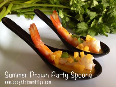 Prawn spoons