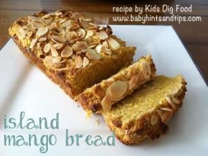 Mango Bread recipe