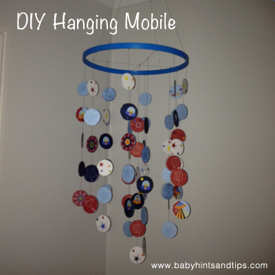 Mobile Craft Ideas For Nursery or Kids Room