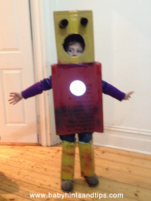 Robot Box Costume