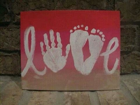 love hand and froot canvas