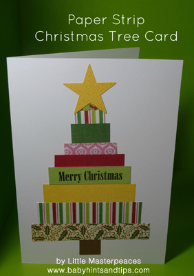 Homemade Christmas Cards With Wrapping Paper