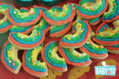 Rainbow cookie recipe