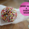{RECIPE} No Bake Everyday's a Party Balls
