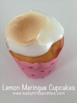Lemon Meringue Cupcakes | Baby Hints & Tips