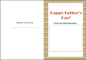 Father's Day Card | Baby Hints & Tips