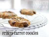 RECIPE - Fruity Carrot Cookies